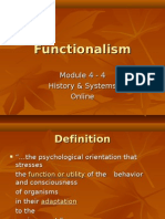 Module 4-4 Functionalism