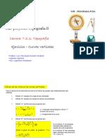 Ejercicio Curva Vertical