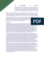 Actualidad sobre Descentralizacion en Venezuela