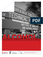 NCTA Social Norm Campaign With Survey