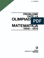 Probleme olimpiade 1968-74 - L. Panaitopol, C. Ottescu (1976)