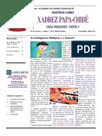 BOLETIM DE XADREZ - N3