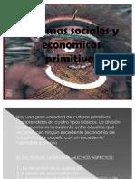 sistemas sociales y economicos primitivos