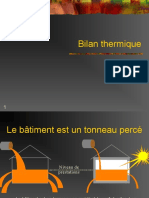 Bilan thermique