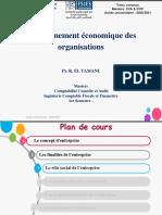 Séance 3-Cours Environnement Économique Des Organisations