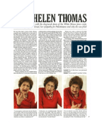 Interview - Helen Thomas