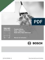 Bosch HEF43J34ED Style Grill Range