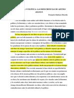Arturo Arango- Terceras reincidencias