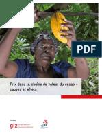 2018-14 Prix dans la chaîne de valeur du cacao – causes et effets