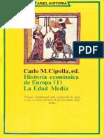 Cipolla - Historia Económica de Europa_ Edad Media