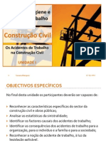 1.Diapositivos_Os acidentes de trabalho na construção civil
