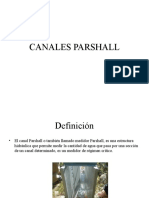 Canales Parshall