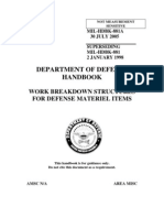 WBS - Departamento de Defesa