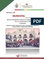 21 016 Manual General de Organizacion Del h Ayuntamiento Chic Edomex Adm2019 2021 20119105751
