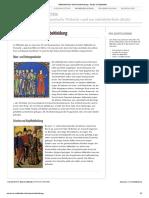 Mittelalterliche Männerbekleidung - Mode im Mittelalter