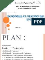 Economie et organisations des entreprises (1)