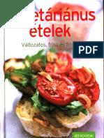 Art Nouveau Kiadó - Vegetáriánus ételek