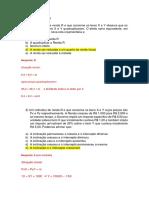 Atividade - Microeconomia 1 - Gabarito