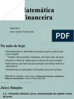 Aula_1_Juros_Simples_vfinal - Análise de Investimentos