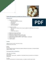 Curso de quesería y productos lácteos CASTELLANO