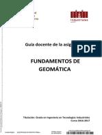 Fundamentos de Geomatica