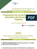 Evaluación de la participación educativa de los padres en España.