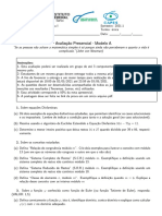 Prsencial 2 Modelo a ALGEBRA