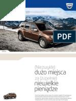 Dacia Duster Katalog PL