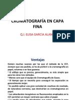 TEMA 3 Cromatografía en Capa Fina