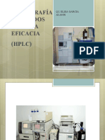 TEMA 5 Cromatografía HPLC
