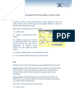 002 - Como montar uma ordem de Start de compra e Stop de venda