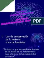 IV. LEYES PONDERALES