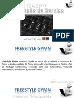 Serviço Pós-Venda - FreeStyle Gymn