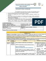 BACHILLERATO TÉCNICO FICHA TÉCNICA-1ERO BTE - PAQUETES CONTABLES Y TRIBUTACIÓN - SEMANA 34-35