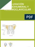 Luxación glenohumeral y acromioclavicular