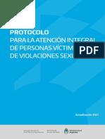 Protocolo de Atención Personas Víctimas de Violaciones Sexuales 2021