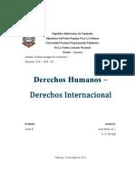 Defensa I - Derechos Humanos y Derechos Internacional