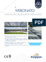 Kingspan_TZ Polycarbonate usage and installation_Manual_Spain_PT