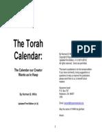 The Torah Calendar v1.4 Home Printable