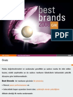 Gfk - Best Brands 2008