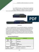 V1600D-MINI EPON OLT Introduction V1.0