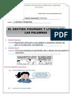 FIGURADO - LITERAL