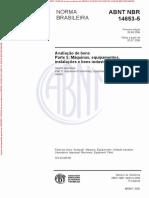 NBR14653-5 - Avaliação de Máquinas e Bens