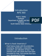Introduction to Food Chemistry