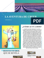 CATEQUESIS 4 LA AVENTURA DE CREER