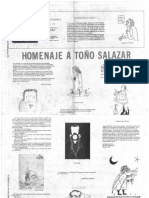 La Golondrina 12 Bis Página literaria. Homenaje a Toño Salazar