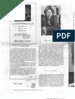 La Golondrina 12. Página literaria. Hilda Lewin o el amor al teatro