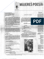 La Golondrina 15 Página literaria Mujeres y poesía