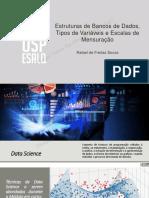 Slides Estruturas Dados - Variaveis - Escalas Mensuracao