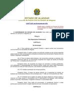 Lei 3.437-1975 -Estatuto do Policia Civil do Estado de Alagoas